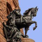 Kaiser Wilhelm I. zu Pferd am Kyffhäuserdenkmal
